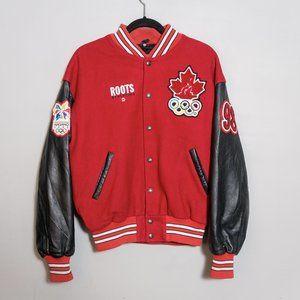 Roots x Vintage - 98' Nagano Olympics Wool Varsity